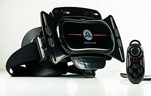 Freefly-VR-FREEFLY-GLIDE-COMBO-Gafas-de-vdeo-virtual-compatible-con-dispositivos-mviles-para-pantalla-de-47-a-61-color-negro