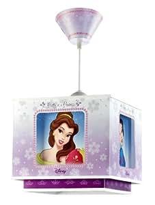 Dalber 63872 lampe de plafond lustre carre 3 princesses disney b b s - Plafond pour la prime de naissance ...