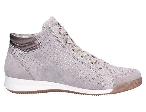 ara Damen Rom-Stf 12-44410 Hohe Sneaker Grau (rauch, street)