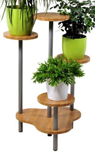 Newsbenessere.com 41fDB3eP02L HOMEGARDEN Fioriera con vaso per giardino in legno di pino Cm 75x30x180 h