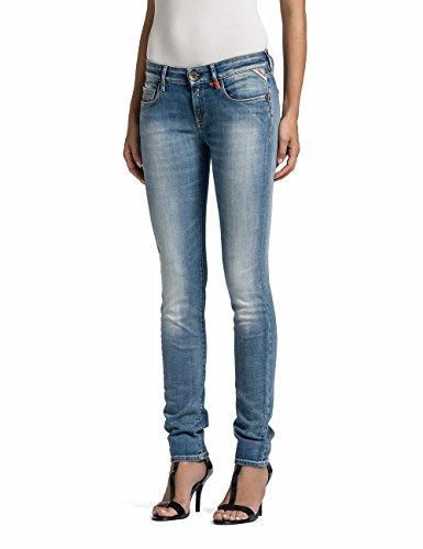 Replay - Rose - Jeans Femme Bleu (Blue Denim 10)