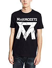 Plastic Head Men's Marmozets Smashed Banded Collar Short Sleeve T-Shirt