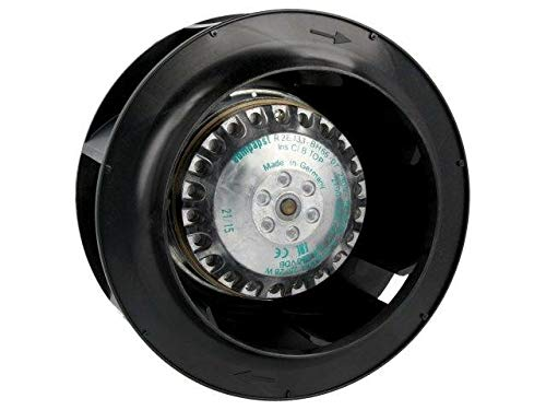 R2E133-BH66-07 Fan AC radial 230VAC Ø133x73mm ball bearing 2700rpm EBM-PAPST -
