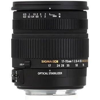 Sigma 17-70 mm F2,8-4,0 DC Makro OS HSM-Objektiv (72 mm Filtergewinde) für Canon Objektivbajonett