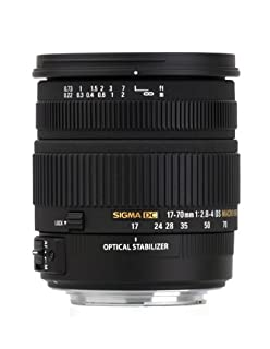 Sigma 17-70 mm F2,8-4,0 DC Makro OS HSM-Objektiv (72 mm Filtergewinde) für Nikon Objektivbajonett (B002ZNJB2S) | Amazon price tracker / tracking, Amazon price history charts, Amazon price watches, Amazon price drop alerts