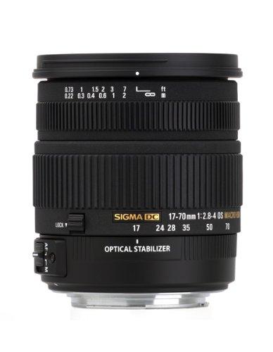 Sigma 17-70/2,8-4,0 DC MACRO OS HSM Obiettivo per Nikon