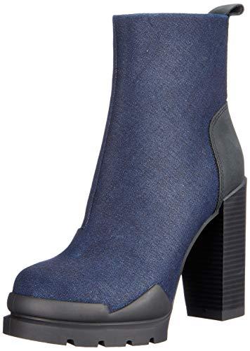 g star stiefeletten G-STAR RAW Damen Rackam Heel Boot Stiefeletten, Blau (Dk Navy 881), 38 EU