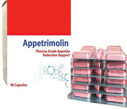 Appetrimolin Dieta In Pillole Per Sopprimere L'appetito e Ridurre Il Peso Confezione Da 96 Capsule