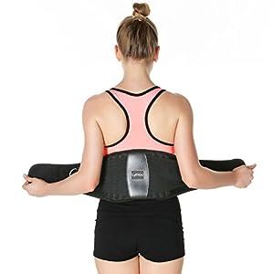 Lyihlou Rückenbandage Rückenstützgürtel | Sport Fitness Rückengurt- Atmungsaktiv