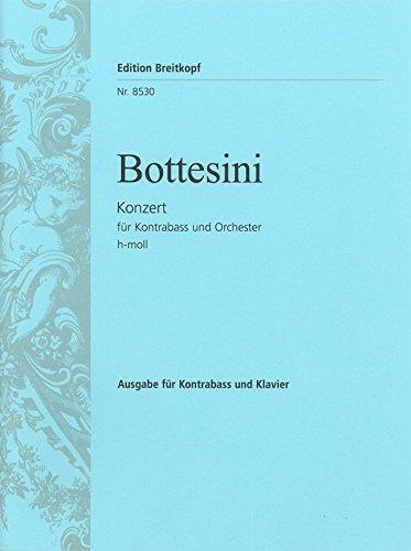 Kontrabasskonzert h-moll - Ausgabe für Kontrabass und Klavier (EB 8530)