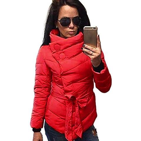 RETUROM nueva manera del estilo de las mujeres abrigo de invierno cálido Outwear la chaqueta de manga larga