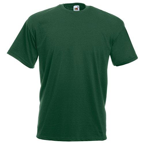 Fruit of the Loom Herren T-Shirt Bottle Green