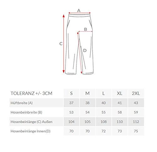 OZONEE Uomo Pantaloni Sportivi Cascante HOT RED 2231 Grau_MJ1865
