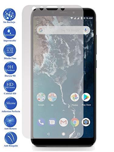 Todotumovil Protector de Pantalla Cristal Templado Vidrio 9H Premium para Xiaomi MI A2