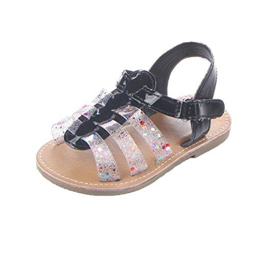 Omiky® 2017 Mode Neugeborenes Baby Baby Soft Moccs Schuhe Soft Soled Anti-Rutsch Schuhe Schuhe Schwarz