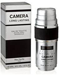 Max Deville 15762974 CAMERA LONG LASTING EDT Herren Parfüm 50 ml