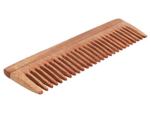 By Nature Neem Wood Wide Tooth Comb