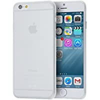 "doupi UltraSlim Case per iPhone 6s Plus iPhone 6 Plus ( 5.5"" ) satinato fine piuma facile Mat semi transparente Copertura Tacsa Custodia Caso Cover - Bianco"