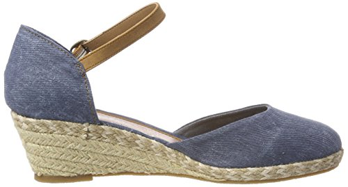 Dockers by Gerli Damen 36is201-706660 Riemchensandalen Blau (Navy 660)