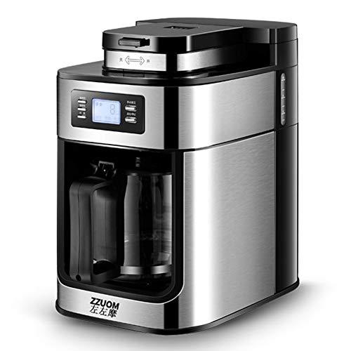 DJG Automatische Kaffeemaschine, Haushaltsmühle, frisch zubereitet, Tropfkanne, amerikanische Kaffeekanne, Teekocher, Teemaschine
