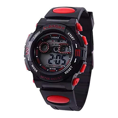 Yallylunn Multi Function Alarm Clock Student Waterproof Sports Fashion Electronic Watch Klassik Arbeiten Oder Studieren Im Freien Sport