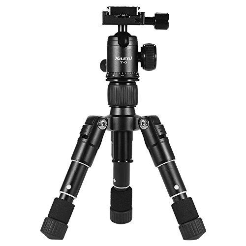 Andoer – xiletu Ultra de Compact de sobremesa Mini de trípode Kit con rótula para Canon Nikon DSLR de cámara