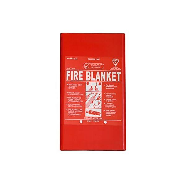 FireShield 1.2 x 1.2 Hard Case Fire Blanket