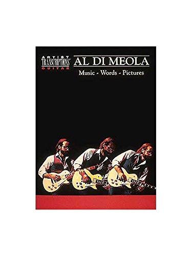 Al Di Meola: Music, Words, Pictures. Partitions pour Guitare (Symboles d'Accords)