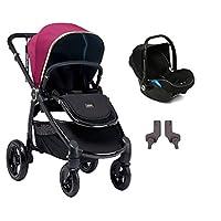 Mamas & Papas Ocarro Jewel Travel Sistem Bebek Arabası, Mor