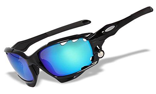 SHD-JW Chrom Iridium Switchlock 4 Objektive Original Polarisierte Sport Sonnenbrille (JW) (JW65)