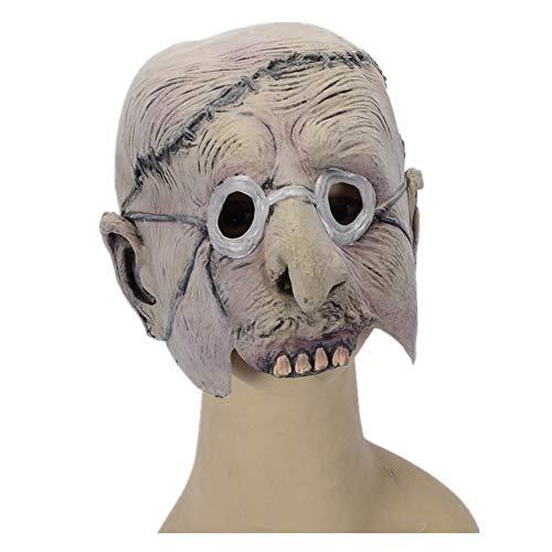 WHLMJ Latex Maske Halloween Kostüm Ball Nachtclub Karnevalsbrille Zahn Und Kleiner Teufel. Maske