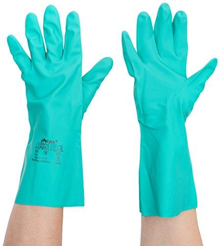 Polyco 926Nitri Tech III chemikalienbeständig Handschuhe, 1Paar, Größe 9/L, Grün