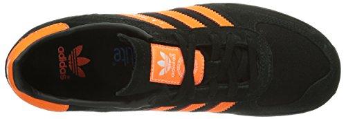 adidas LA Trainer, Unisex-Kinder Sneakers Schwarz (Black 1 / Running White Ftw / Black 1)
