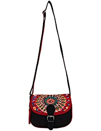 6400dd06b246 Anekaant Geomet Canvas Sling Bag