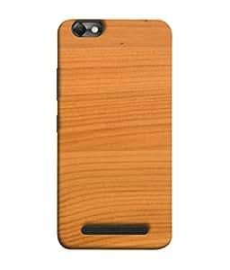 Fuson Designer Back Case Cover for Lenovo Vibe C :: Lenovo A2020 (Wood Lakadi Antique Fashion Beer Dark Grey )