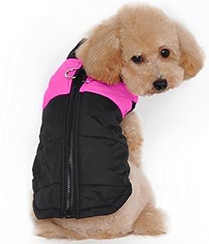 Siyang Hiver Manteau Gilet Manteau d'hiver chaud Apparel pour chien pour temps froid pour chien pour Small Medium Chiens de grande taille