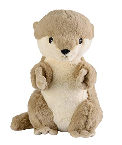 "Warmies® Wärmekissen/Stofftier""Otter"" herausnehmbare Hirse Lavendelfüllung 40cm 700g"