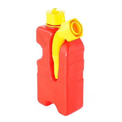 Preisvergleich Produktbild Petrol/Fuel Spare Glass Canister-Capacity 1Litre (TOSO Made by ECOTANICA)