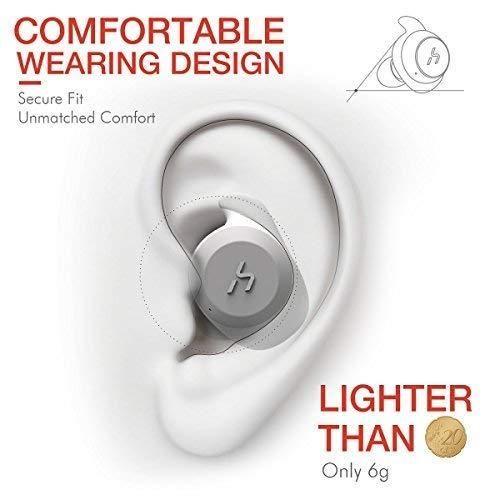 HAVIT Bluetooth Kabellose Kopfhörer in Ear V5.0, Sport Ohrhörer, IPX5 Wasserdicht, 18 Stunden Abspielzeit, Aufbewahrungsbox mit Ladefunktion,Eingebautes Mikrofon für iPhone,Samsung und Huawei, HTC - 3