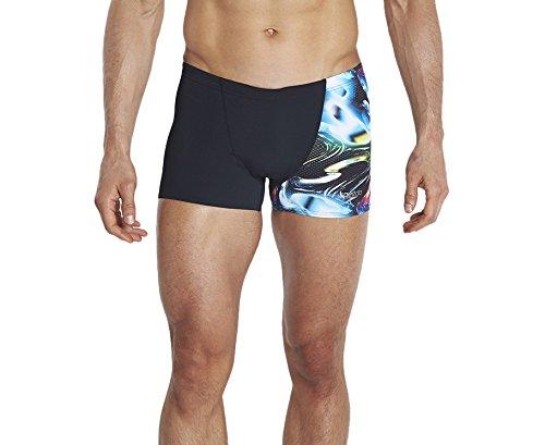 Speedo Endurance Plus Short de bain Imprimé numérique 24 Noir/Japon noir Noir Taille 40