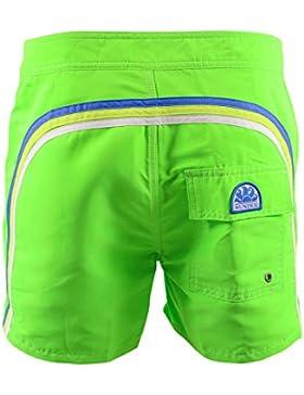 SUNDEK Verde Short de Baño Hombre 502