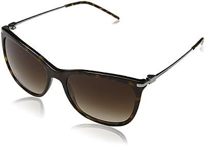 Emporio Armani - Gafas de sol Mod.4051 para mujer, Havana/Brown gradient