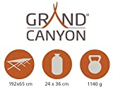 Grand Canyon Camping- Feldbettauflage, grau, 210 x 80 cm, 308024 - 2
