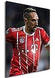 Instabuy Poster - Sports - Football Stars - Bayern München - Franck Ribéry A4 30x21