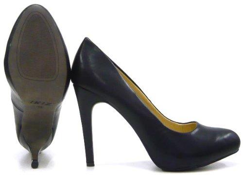 Damen Schuhe Klassische Damen Pumps Schwarz