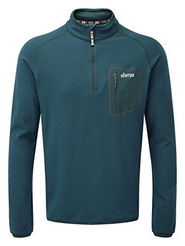 Sherpa Thermal (Sherpa Herren TSEPUN Zip T-Shirt Top, Taal, S)