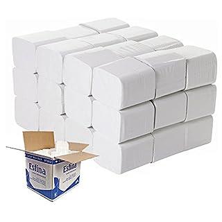 Bulk Pack Toilet Tissue 2 Ply Flats 36 x 250 Sheet 9000 sheets (2)