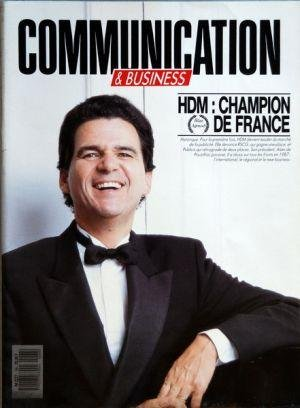 COMMUNICATION du 29/02/1988 - HDM - CHAMPION DE FRANCE - ALAIN DE POUZILHAC