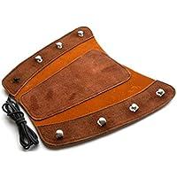 Protector de brazo para tiro con arco, piel de ante de calidad