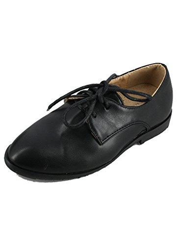6d9df911cfa953 Boutique-Magique Chaussures de cérémonie Noir pour bébé et Enfant, Noir, 22  EU
